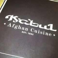 Photo taken at Kabul Afghan Cuisine by Rebecca Z. on 4/1/2012