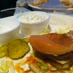 Photo taken at Westport Flea Market Bar & Grill by Michael E. on 4/11/2012
