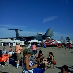 Photo taken at Marine Corps Air Station Miramar by Gina A. on 10/2/2011