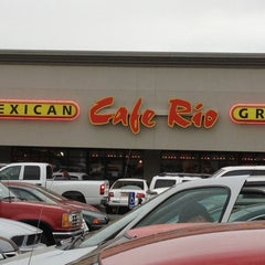 Photo taken at Cafe Rio Mexican Grill by Kyle W. on 3/18/2012