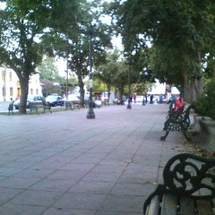 Photo taken at Plaza de Armas de Buin by Nelson P. on 1/21/2012