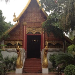 Photo taken at วัดพระแก้ว (Wat Phra Kaeo) by duangkamon p. on 4/1/2012