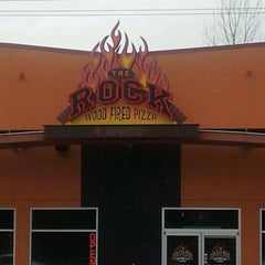 Photo taken at The Rock Wood Fired Kitchen by John E. on 3/9/2012
