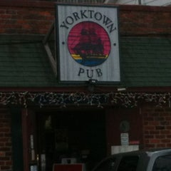 Photo taken at Yorktown Pub by Humberto A. on 12/29/2011
