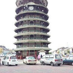 Photo taken at Menara Condong (Leaning Tower) by amirul h. on 7/19/2012