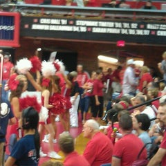 Photo taken at NU Coliseum by Lori F. on 9/8/2011