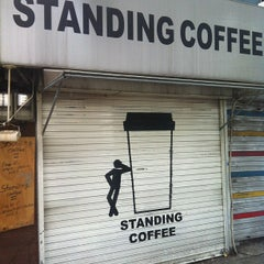 Photo taken at STANDING COFFEE by Jina P. on 7/29/2012