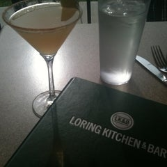 Photo taken at Loring Kitchen and Bar by Ray M. on 7/13/2011