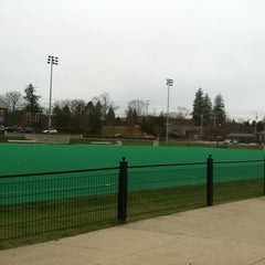 Photo taken at Memorial Field by Jason B. on 11/17/2011