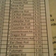 Photo taken at Sushi Garden Restaurant by Chandler P. on 6/16/2012