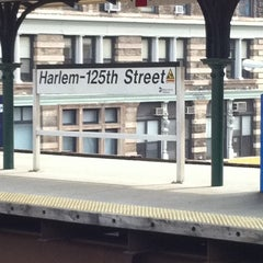 Photo taken at Metro North - Harlem 125th Station by Kimberly F. on 9/21/2011