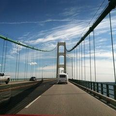 Photo taken at Mackinac Bridge by Pat W. on 7/29/2012