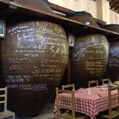 Photo taken at Las Cuevas del Vino by María R. on 6/30/2012