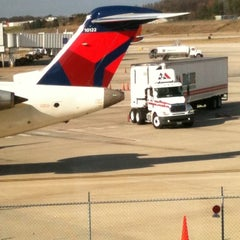 Photo taken at Birmingham-Shuttlesworth International Airport (BHM) by Steve J. on 11/19/2011