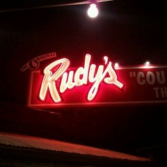 Photo taken at Rudy's Country Store & Bar-B-Q by Jonathan S. on 11/16/2011