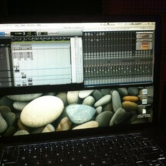 "Photo taken at Prosantana Recording Studio, Creative Gallery by Carlos ""Charlie"" S. on 5/1/2012"