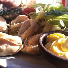 Photo taken at Restaurant Miramar by Benjamín H. on 6/7/2012