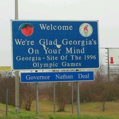 Photo taken at Georgia/Tennessee State Line by Rick D. on 1/12/2012