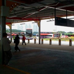 Photo taken at Jurong East Temporary Bus Interchange by Adong D. on 12/17/2011