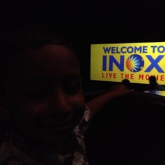 Photo taken at Inox by Arun T. on 7/12/2012