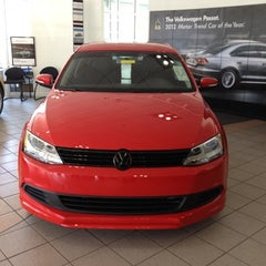 Photo taken at Kuhn Honda VW by Kerri B. on 4/6/2012