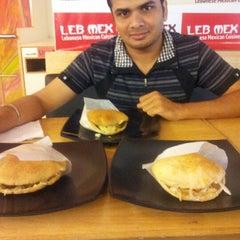Photo taken at LebMex by Komal K. on 8/26/2012