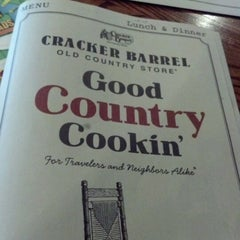Photo taken at Cracker Barrel Old Country Store by Edward L. on 6/16/2012