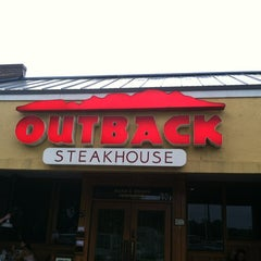 Photo taken at Outback Steakhouse by Nancy on 5/29/2012