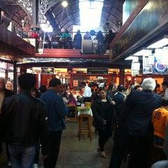 Photo taken at Mercado del Puerto by Lucas E. on 4/30/2012