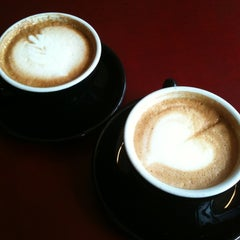 Photo taken at Mighty Good Coffee by Joan H. on 4/29/2012