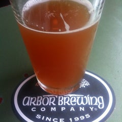 Photo taken at Arbor Brewing Company by Kevin S. on 7/17/2012