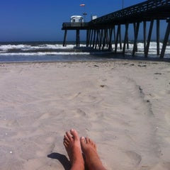 Photo taken at Ocean City Fishing Pier by Scott M. on 5/29/2012