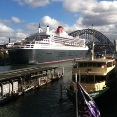 Photo taken at Circular Quay Ferry Terminal by Blake Y. on 3/6/2012