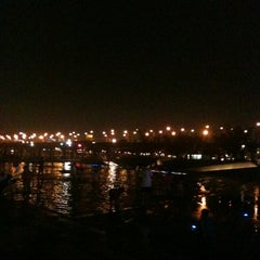 Photo taken at 여의도 한강공원 (Yeouido Hangang Park) by Lucy K. on 8/10/2012