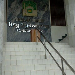 Photo taken at Masjid Jami Asy-Syakirin by Krisna H. on 3/30/2012