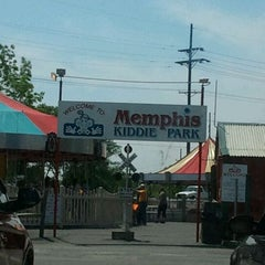 Photo taken at Memphis Kiddie Park by Adam C. on 5/14/2012