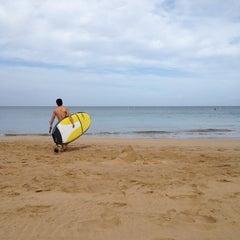 Photo taken at Kamaole Beach Park I by Angela T. on 6/18/2012