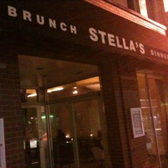 Photo taken at Stella's Restaurant, Bar, & Café by Mike S. on 6/17/2012
