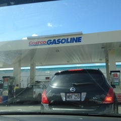 Photo taken at Costco Gas by Valerie D. on 2/21/2012