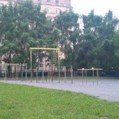 Photo taken at Площадка команды SWAP by Ivan V. on 6/8/2012