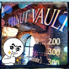 Photo taken at The Doughnut Vault by Eric P. on 5/3/2012