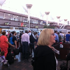 Photo taken at North Security Checkpoint by Robert E. on 7/31/2012