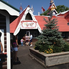 Photo taken at Santa's Village Azoosment Park by Howard on 8/3/2012