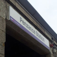 Photo taken at Penzance Railway Station (PNZ) by Calam N. on 7/13/2012