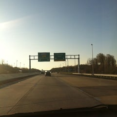 Photo taken at Dover Toll Plaza by Benjamin F. on 3/30/2012