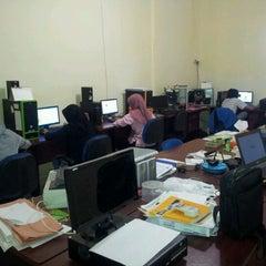 Photo taken at Mega Primavista, IT workshop by Gema P. on 3/19/2012