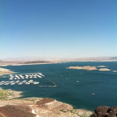 Photo taken at Lake Mead Overlook by R Marina D. on 6/24/2012