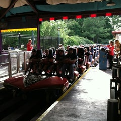 Photo taken at Apollo's Chariot - Busch Gardens by Hunter W. on 5/18/2012