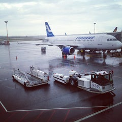 Photo taken at Terminal 2 by Andrea C. on 8/27/2012