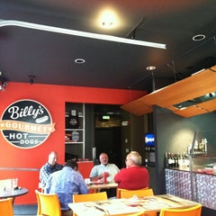 Photo taken at Billy's Gourmet Hot Dogs by Quinn J. on 7/27/2011